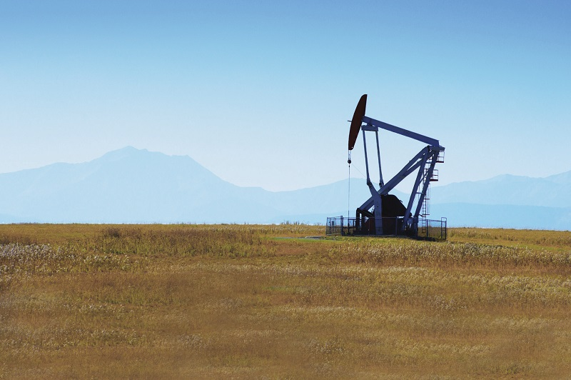 Southern Alberta Oil Well